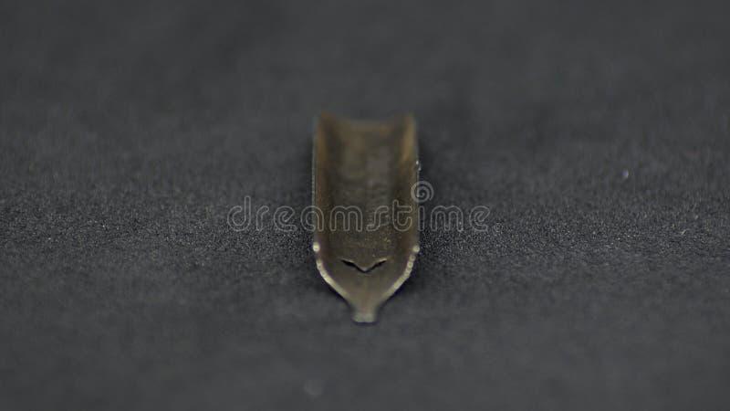 Старые nibs ручки металла стоковая фотография rf