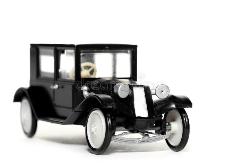 Старый автомобиль Tatra 11 Limusina игрушки стоковая фотография rf
