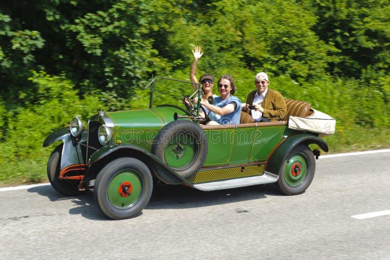 Старый автомобиль таймера стоковое фото rf