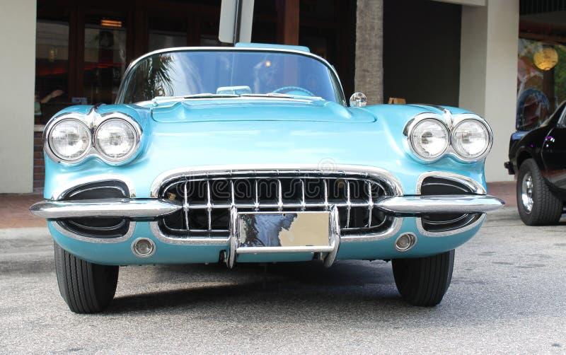 Старый автомобиль Chevrolet Corvette стоковая фотография rf