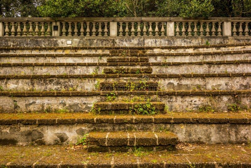 Старый амфитеатр в Тоскане - 2 стоковое изображение rf