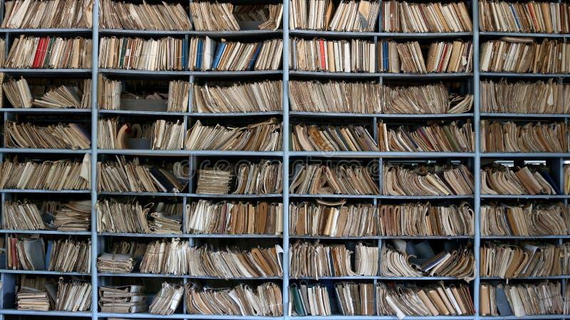 Старый архив стоковые изображения rf