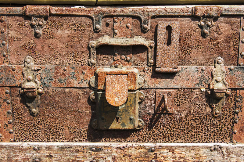 Старый багаж стоковое фото rf