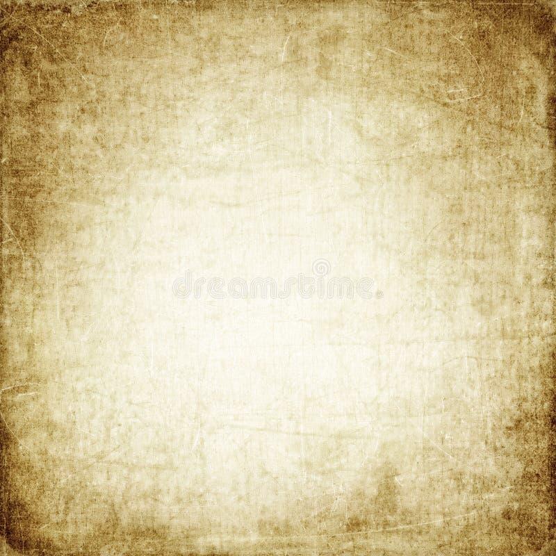 Старый бейдж фон, бумажная текстура, винтаж, ретро, грюнж, старая бумага, старинная, антикварная, царапины, пятна, текстовое прос стоковое фото