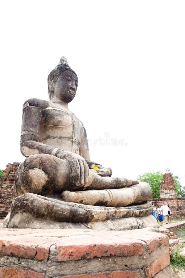 Старый большой Будда стоковое изображение rf