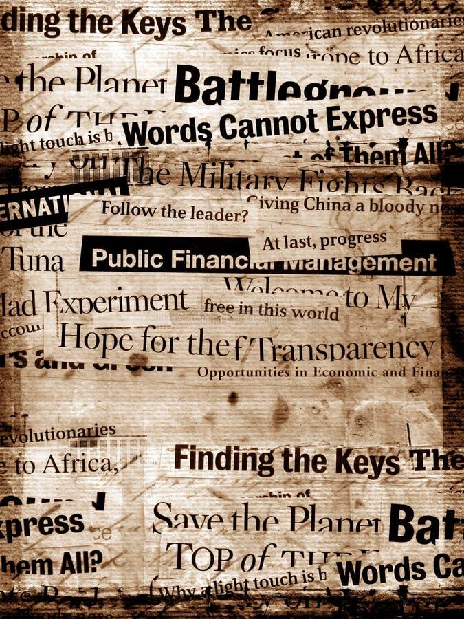 старый бумажный текст бесплатная иллюстрация