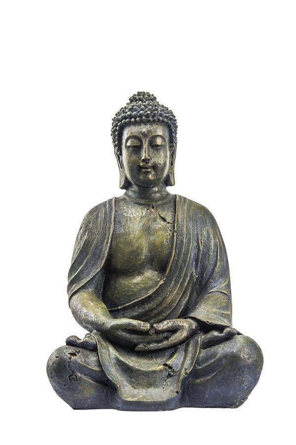 Старый Будда стоковое фото rf
