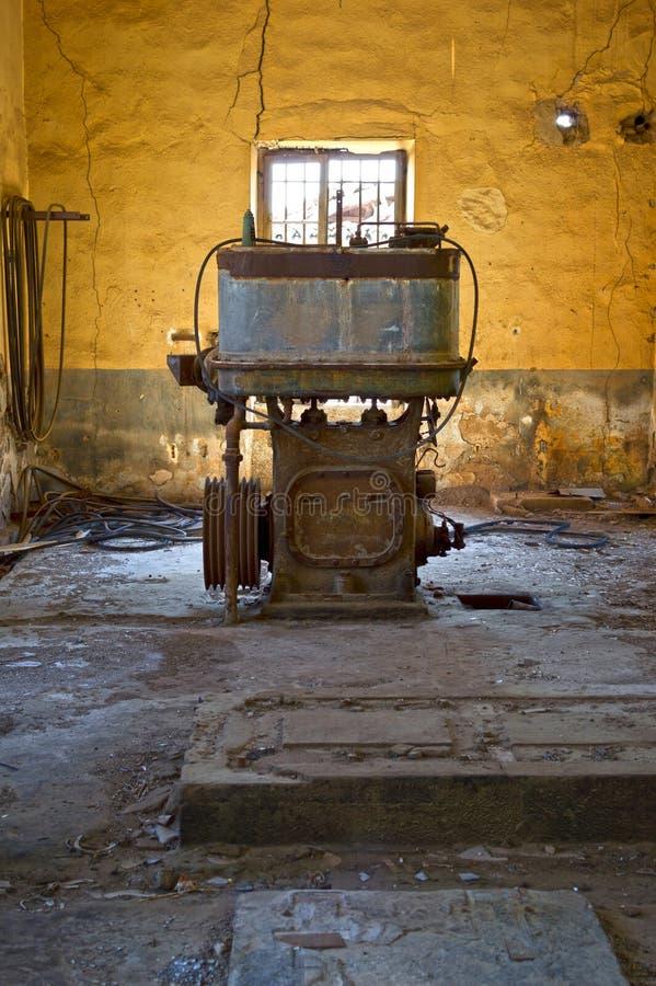 Старый двигатель стоковое фото rf