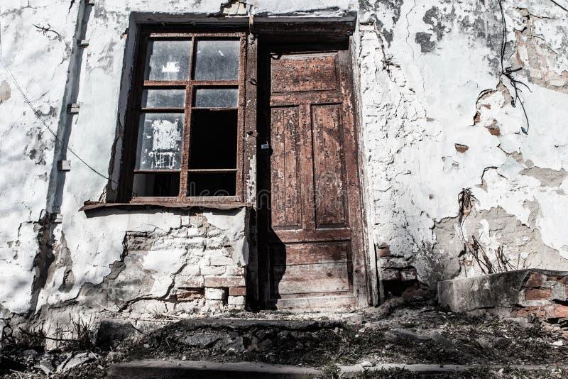Старый винтажный дом стоковые фотографии rf