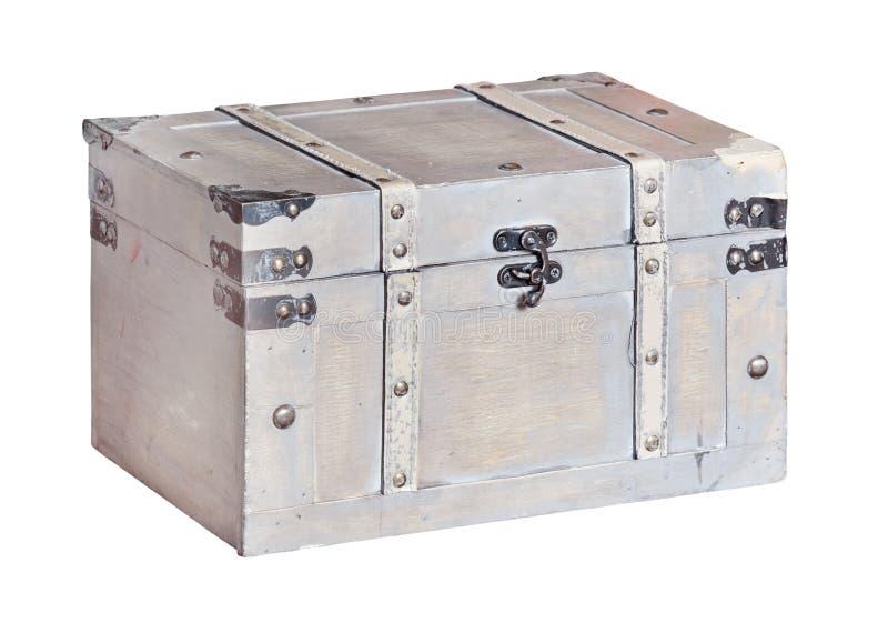 Старый винтажный изолированный хобот стоковые изображения rf