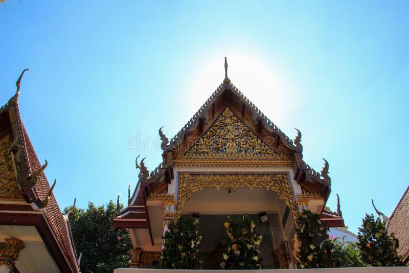 Старый висок Будды в Ayutthaya, Таиланде стоковая фотография rf