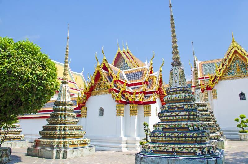 Старый висок в Таиланде стоковая фотография rf