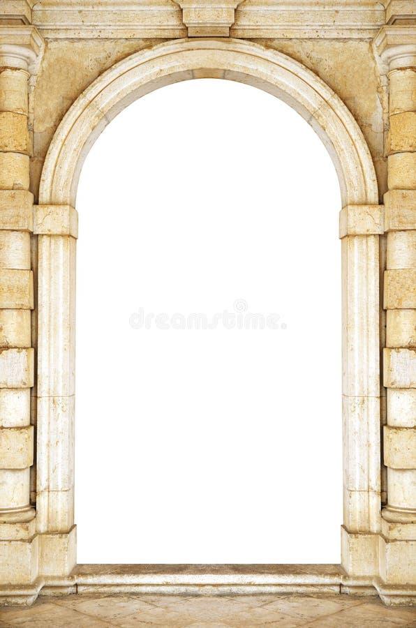 Старый вход свода стоковое фото rf