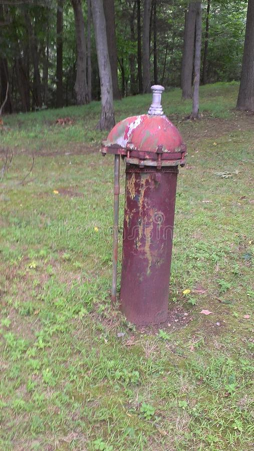 Старый гидрант стоковая фотография rf