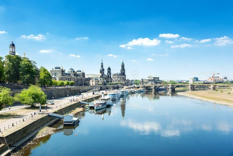 Старый городок Дрездена стоковое изображение
