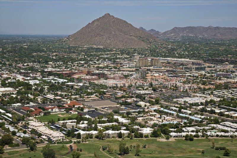 Старый городок Scottsdale, Аризона стоковая фотография rf