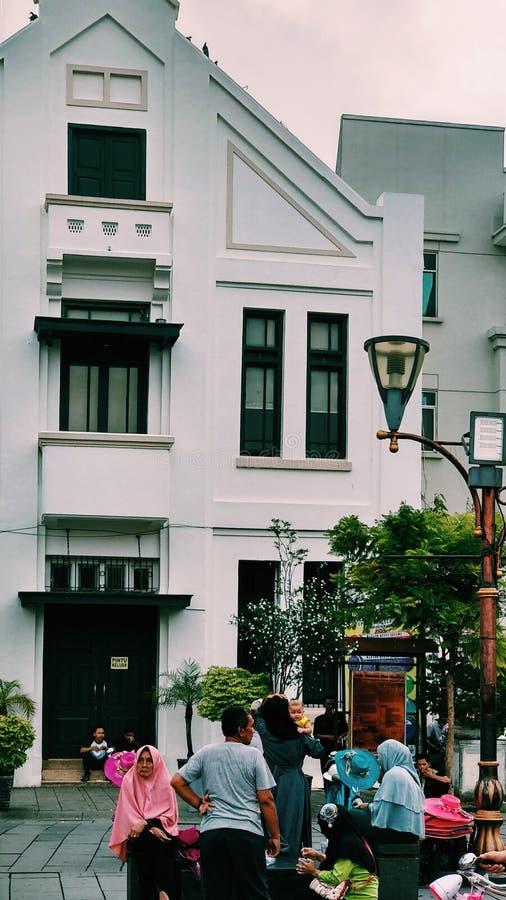 Старый город Джакарты стоковые фото