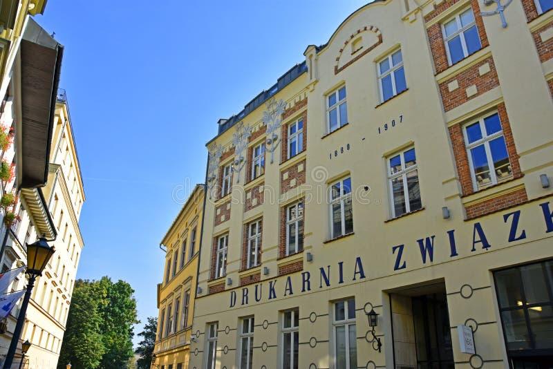 Старый город Кракова стоковая фотография rf