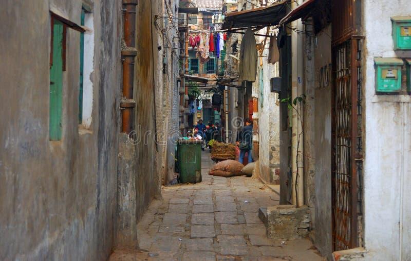 Старый город, Гуанчжоу, Китай стоковая фотография