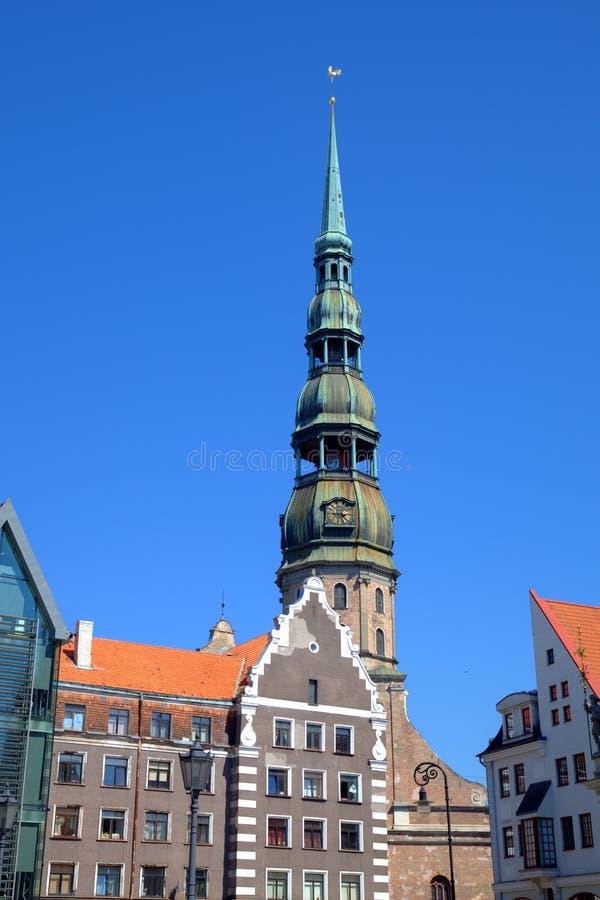 Старый город и собор St Peter. стоковые фотографии rf