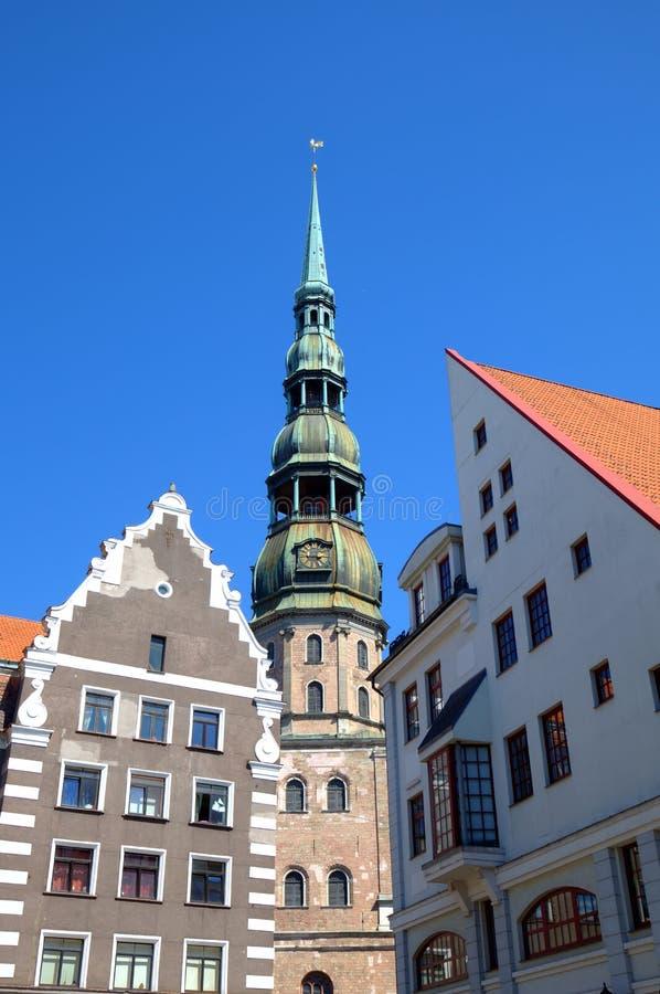 Старый город и собор St Peter. стоковое фото