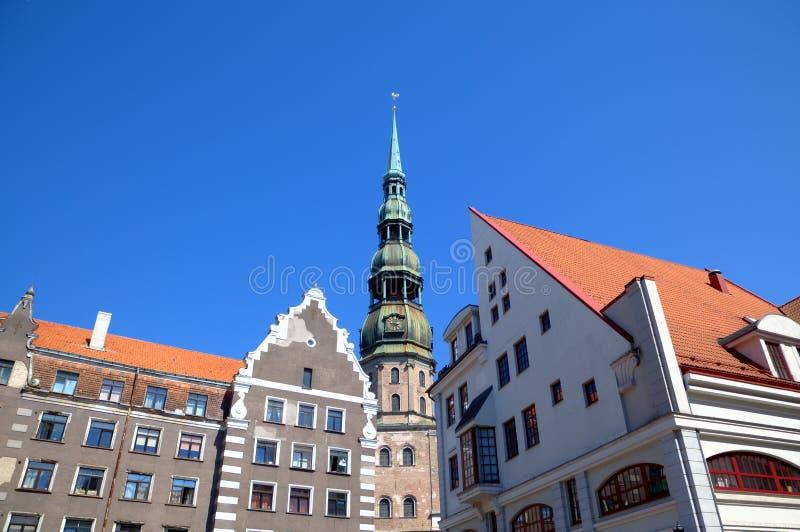 Старый город и собор St Peter. стоковое изображение