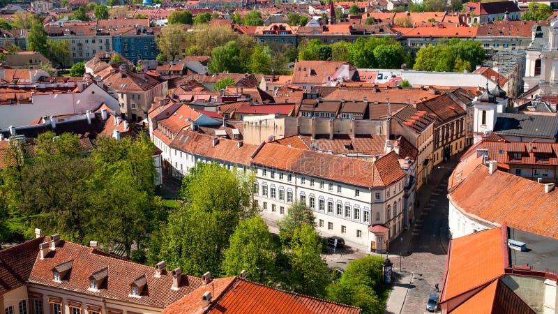 Старый городок Вильнюса стоковые изображения rf