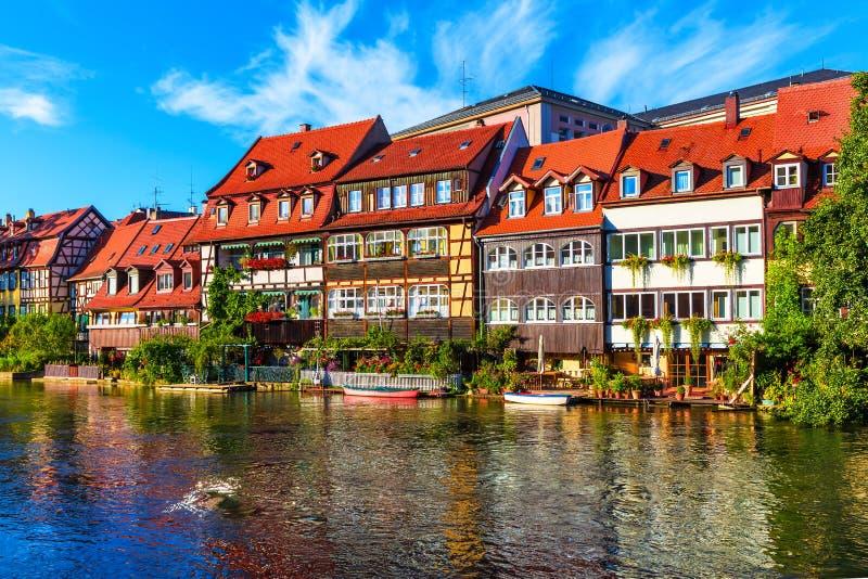 Старый городок в Бамберге, Германии стоковое фото