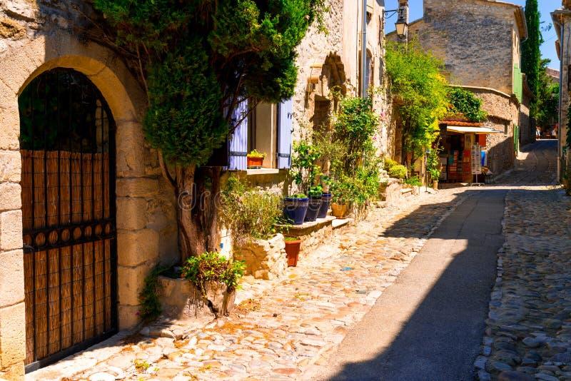 Старый городок в Провансали стоковое фото rf