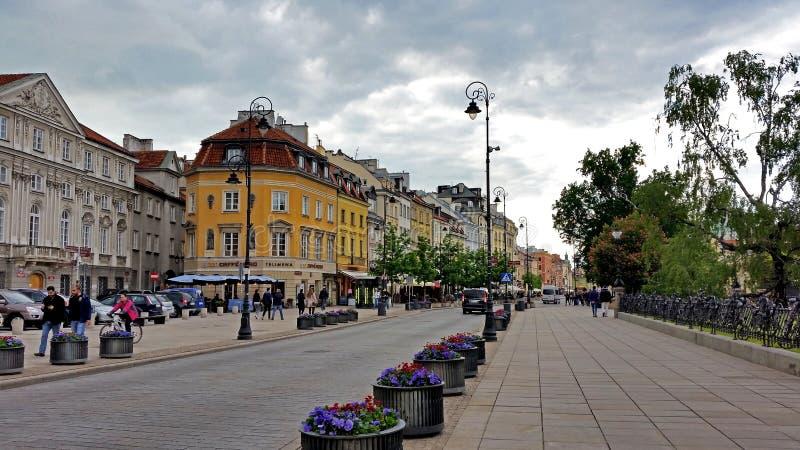 старый городок улиц стоковые изображения