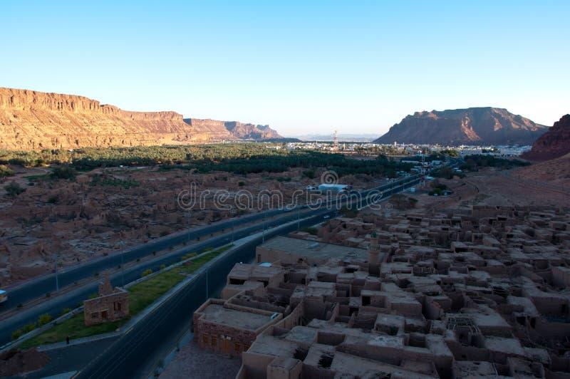 Старый городок al-Ula стоковое фото