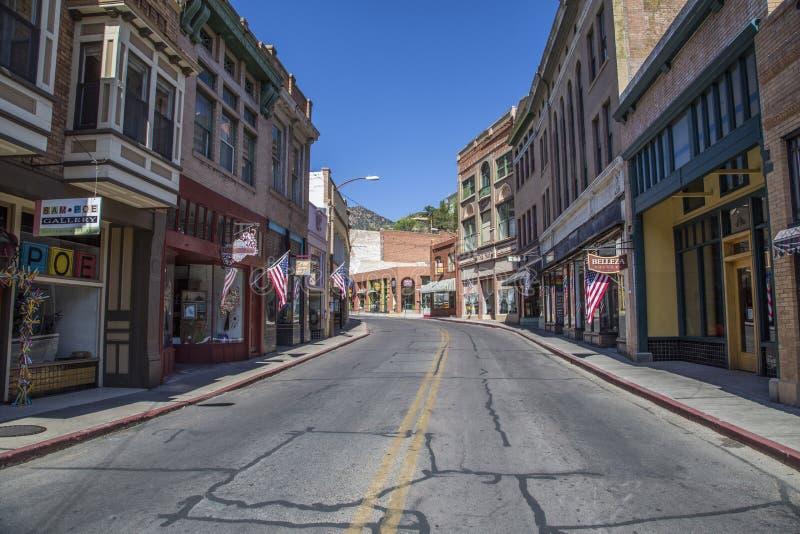 Старый городок Bisbee Аризона стоковые фото