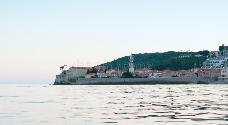 Старый городок Budva стоковая фотография