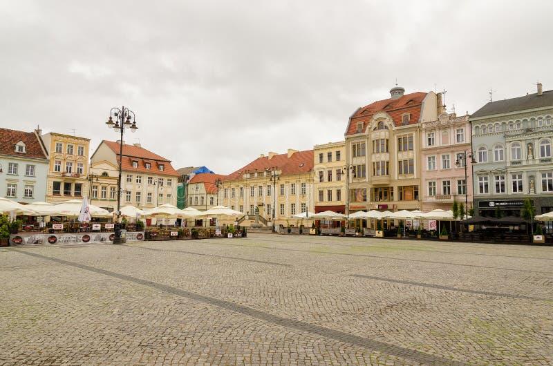 Старый городок Bydgoszcz стоковое изображение rf