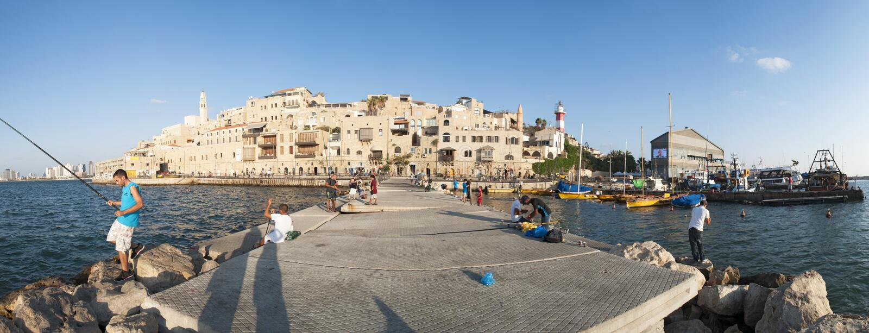 Старый город Яффы, Израиля, Ближний Востока стоковое изображение rf