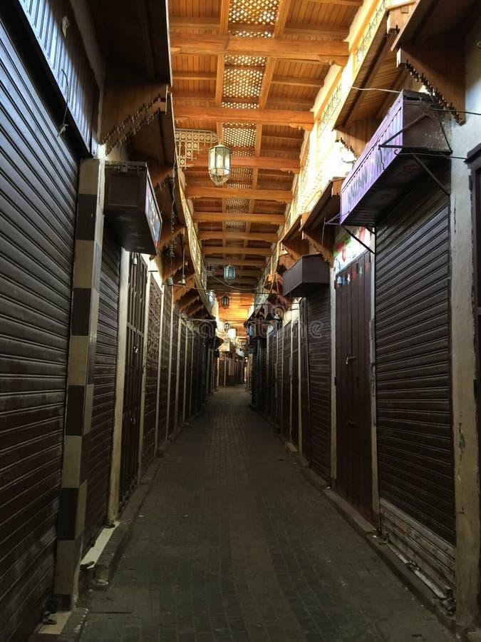 Старый город meknes стоковое фото rf
