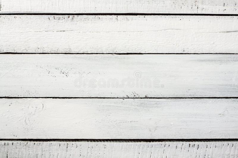 Старый год сбора винограда planked предпосылка покрашенная древесиной бело- стоковая фотография rf