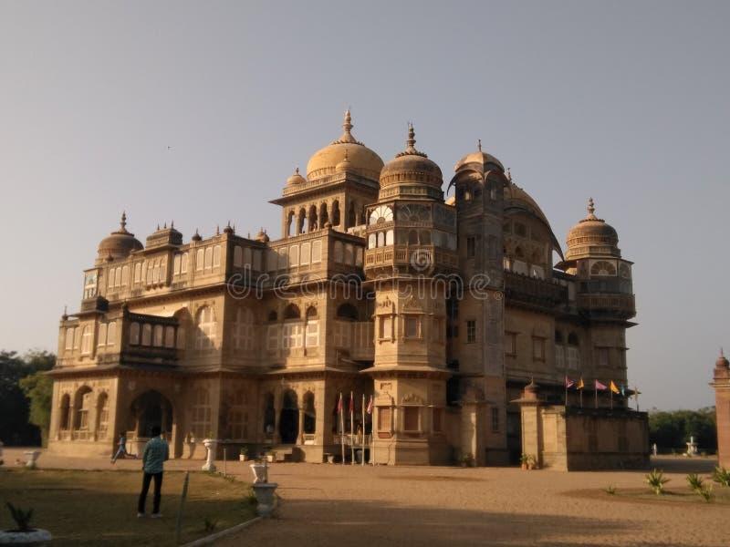 Старый дворец vilas Vijay стоковое фото