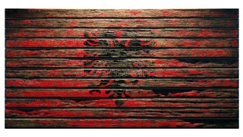 Старый деревянный апокалипсис предпосылки текстуры иллюстрация штока