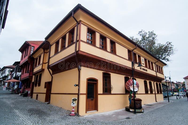 Старый дом в Eskisehir стоковое изображение