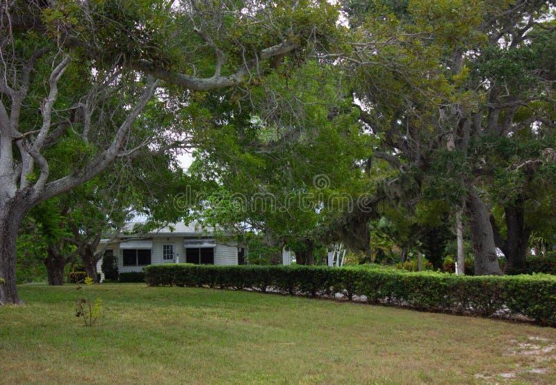 Старый дом Флориды стоковые изображения