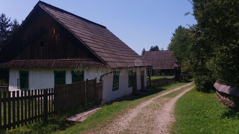 Старый еврейский дом стоковое фото rf