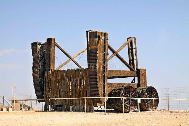 Старый деревянный корабль штурма стоковое изображение