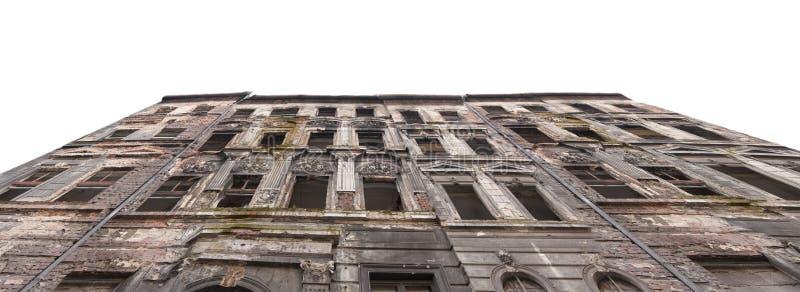 Старый загубленный дом стоковое изображение