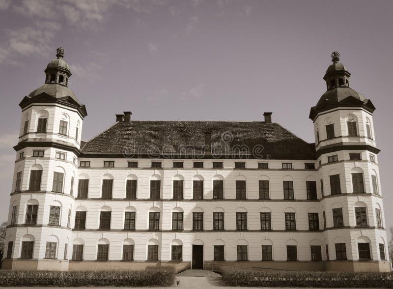 Старый замок в Стокгольме стоковое изображение