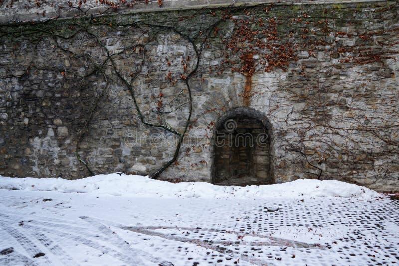 Старый замок в bulle в грюйере в южной Швейцарии стоковое фото rf