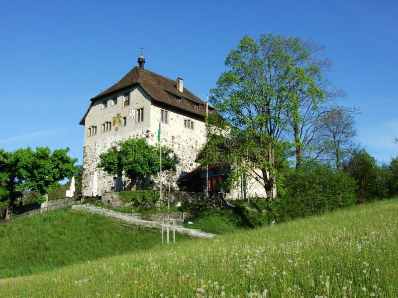 Старый замок в Gossau стоковая фотография rf
