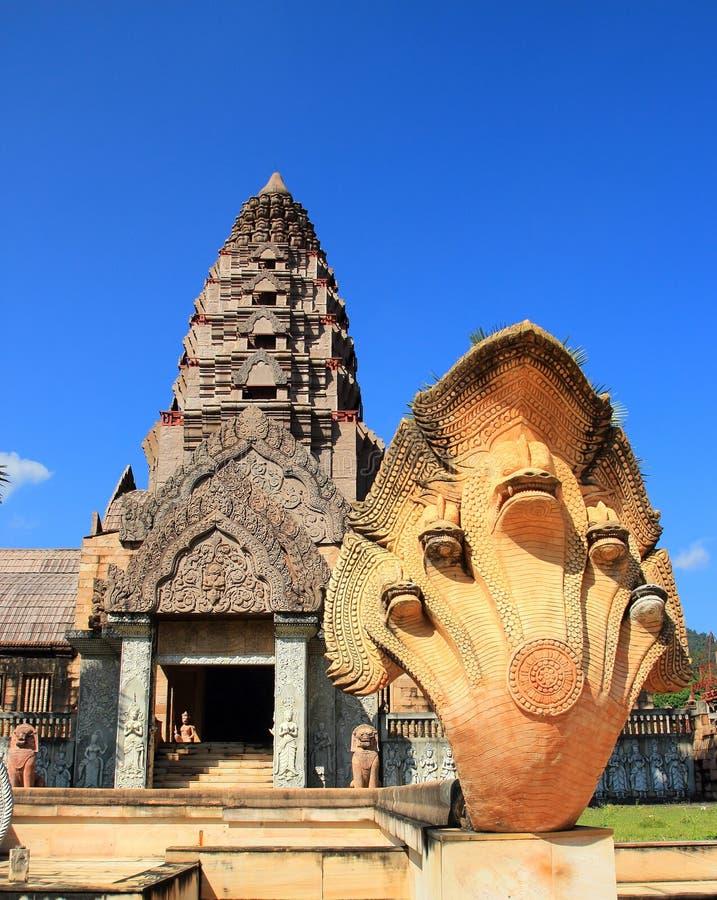 Старый замок, Таиланд стоковые изображения