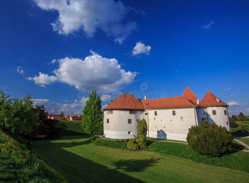 Старый замок Varazdin стоковая фотография
