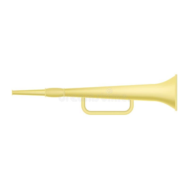 Старый значок трубы, реалистический стиль бесплатная иллюстрация